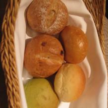 パンは5種より選択
