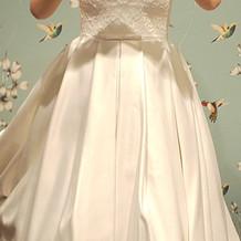 プラス5万のドレス…かわいー