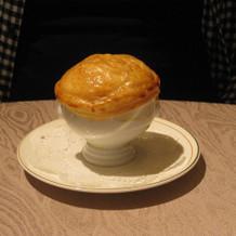 パイ包みスープ