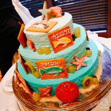 サプライズケーキ!