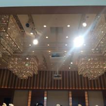 1番大きい部屋の照明