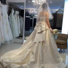 ウエディングブックに掲載されていたドレス