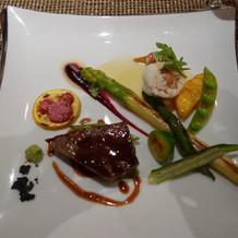 メインディッシュ(肉・魚)