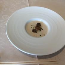 フォアグラのスープ(お料理試食)