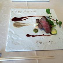 お肉料理(お料理試食)