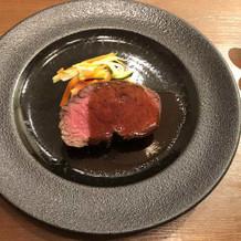 お肉がボーリュミーで満足できました
