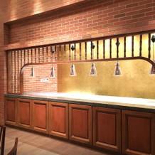 式場内にキッチンがあります。