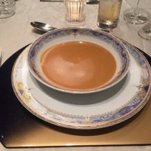 スープ。美味しかった。