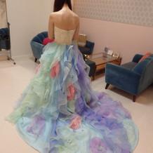 その他試着したドレス