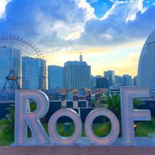 屋上のモニュメント