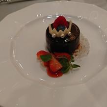 チョコレートムース 英国風