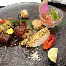 前菜・お魚料理・お肉料理