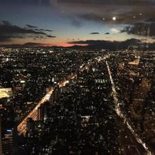 美しい夕方~夜の景色