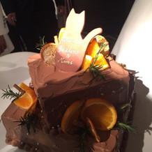 お洒落で可愛いケーキ