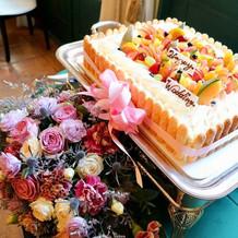 生ケーキが大変美味しかったです