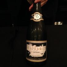 オリジナルのシャンパン