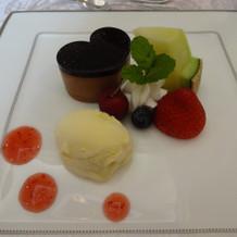 デザート(チョコムース)
