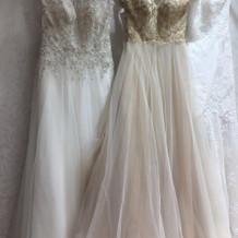 ウエディングドレス、カラードレス