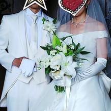 挙式時は王道で!
