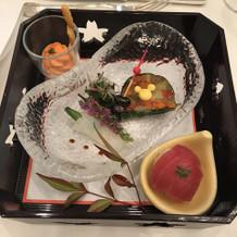 和風の前菜