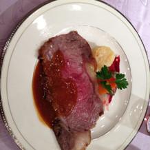 お肉が柔らかくてソースも美味しかった。