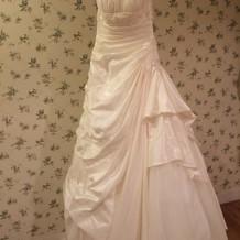 控え室とドレス