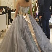 一目惚れしたドレスが着れて幸せ!