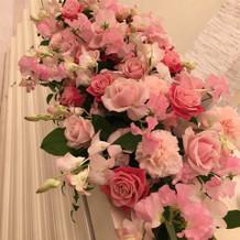 帰り際お花のプレゼントもありました。