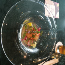 オマール海老の冷菜オードブル