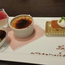 和食と洋食を出してくれて、楽しめました。