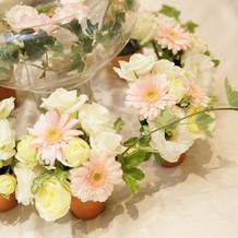 【卓上装花】植木鉢ごとお持ち帰り可