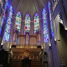 大聖堂のステンドグラス