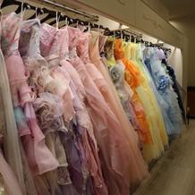 一部ドレス