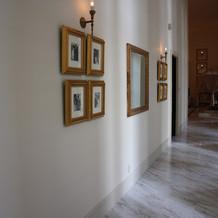 チェペル前の廊下