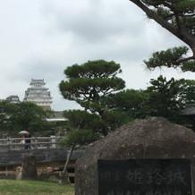 姫路城が横にある