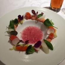 花かんむりの前菜