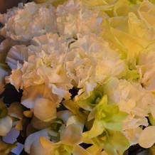 テ-ブル装花