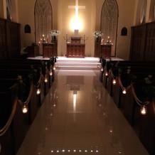 教会正面(ライトオフ)