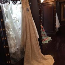 マーメイドドレスです。