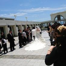 白ドレス&タキシード