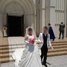白ドレス&タキシード2