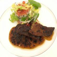 美味しいお肉料理