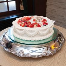 ケーキ(スタンダード丸型1段)