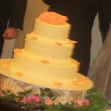 オーダーしたケーキ