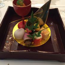 こちらは和食の前菜