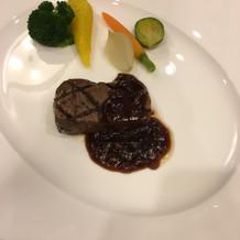 お肉は柔らかく、ゲストにも好評でした