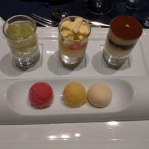 フランス料理。デザート。