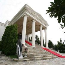 一目惚れの大階段