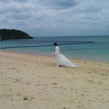 ビーチ撮影
