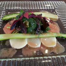 季節の旬の食材を美味しく料理しています。